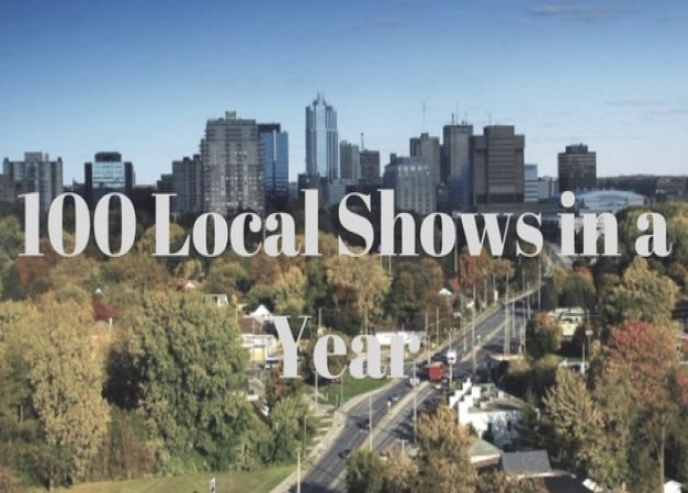 100 Local Shows In A Year