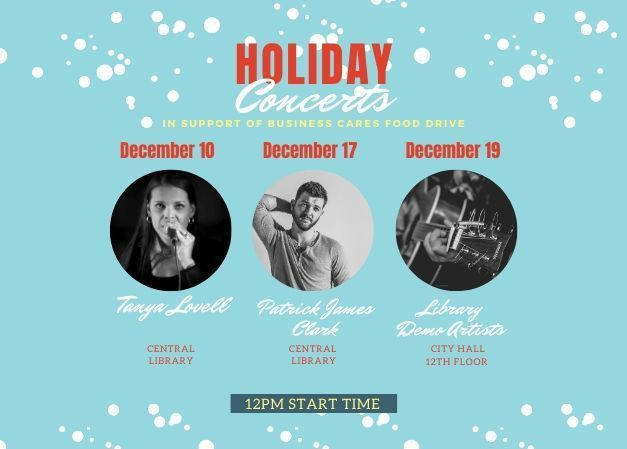 Holiday Concerts in support of Business Cares Food Drive