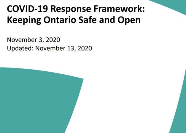 UPDATED*** COVID-19 Response Framework: Keeping Ontario Safe & Open