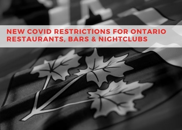 New Restrictions Placed on Ontario Bars & Restaurants