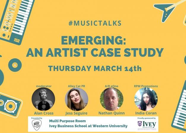 #MusicTalks - Emerging: An Artist Case Study