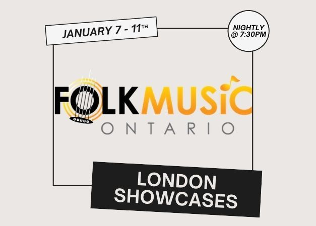 Folk Music Ontario Showcases