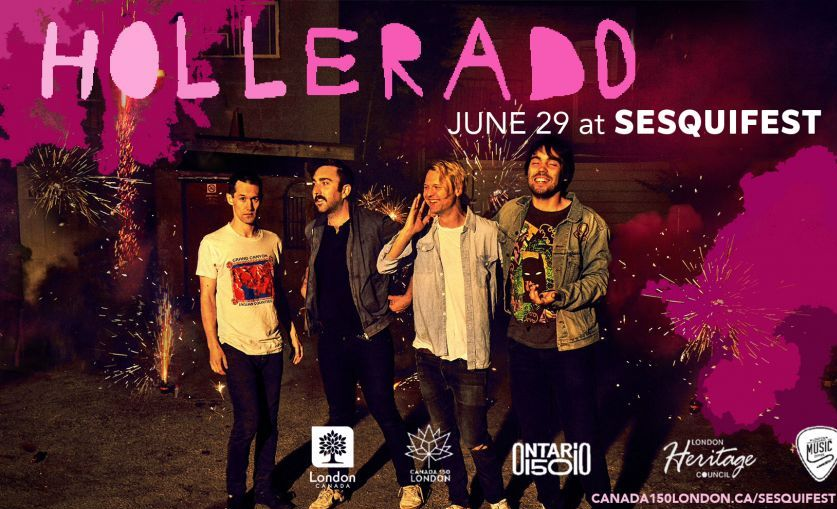 Hollerado Joins London Youth in Taking Over Talbot