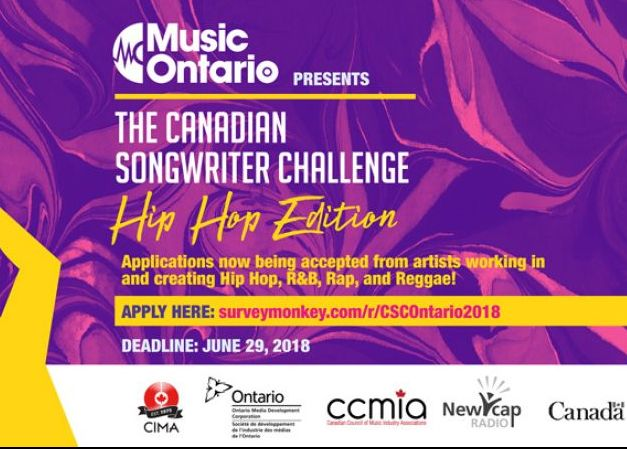 The Canadian Songwriters Challenge (Hip Hop Edition)