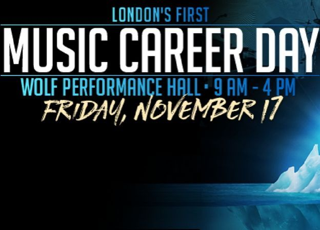 London's First Music Career Day - Details!