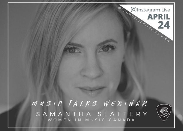 Music Talks Webinar with Samantha Slattery - Apr 30th