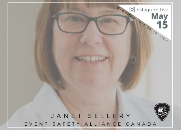 Music Talks Webinar with Janet Sellery - May 15th (Rescheduled)