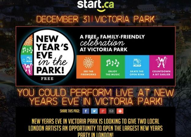 Open NYE in Victoria Park!