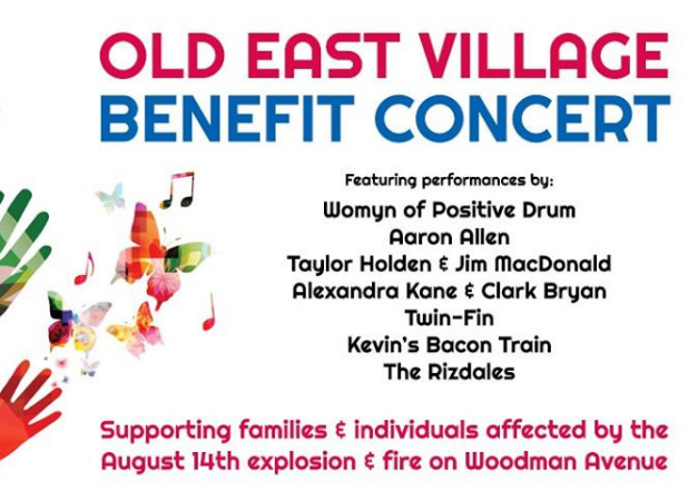 Old East Village Benefit Concert - August 20th