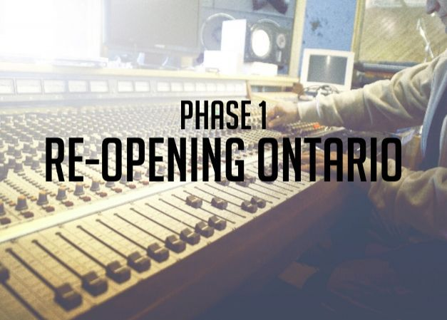 Ontario Reopening Phase One