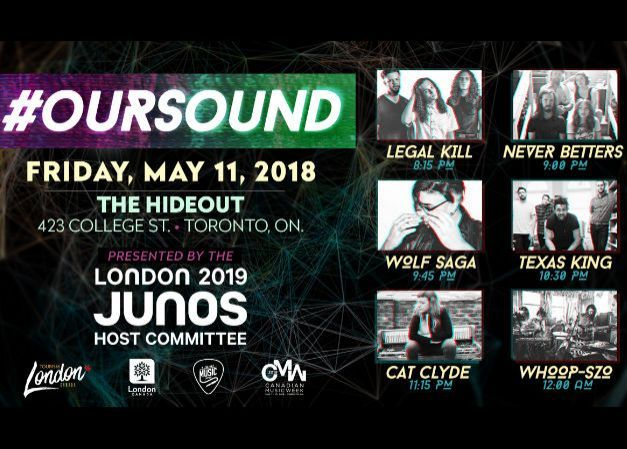 #OurSound Canadian Music Week Showcase