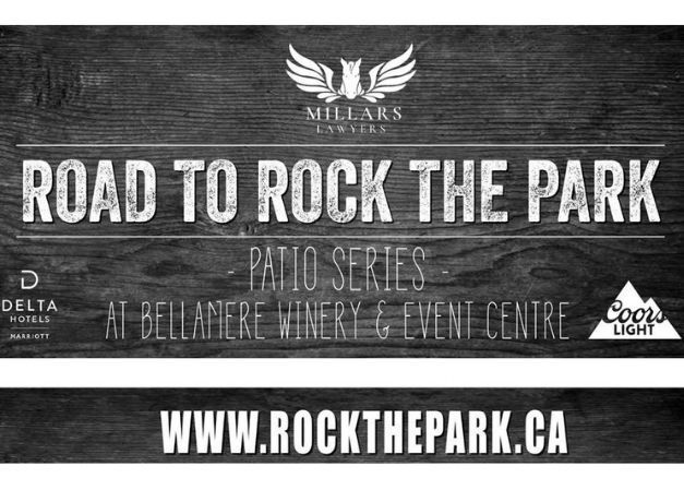 Patio Series Set To Rock Bellemere Winery