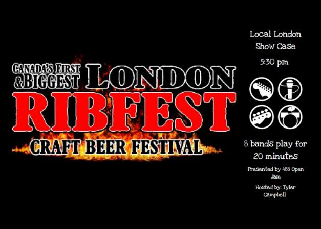 Local London Showcase at London Ribfest