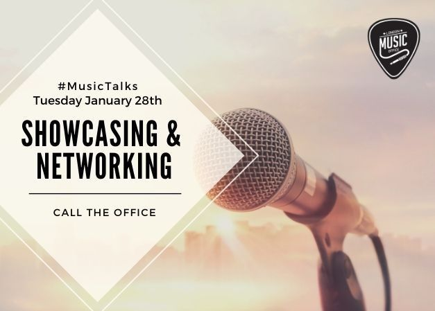 Music Talks: Showcasing & Networking