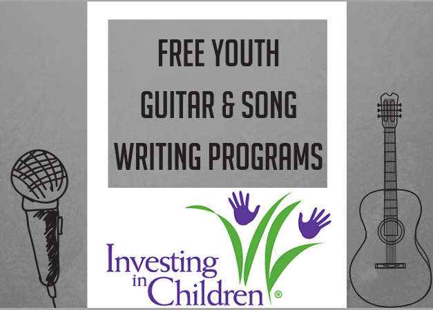 Free Youth Guitar & Songwriting Program