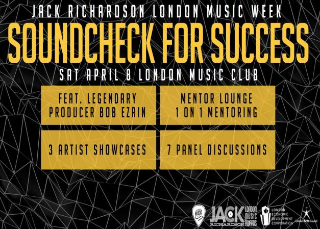 Jack Richardson London Music Week Presents: Jack's Soundcheck for Success